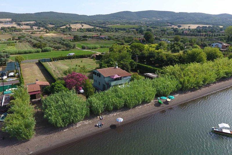 villa  privata sul lago umbria toscana lazio, alquiler vacacional en Bolsena