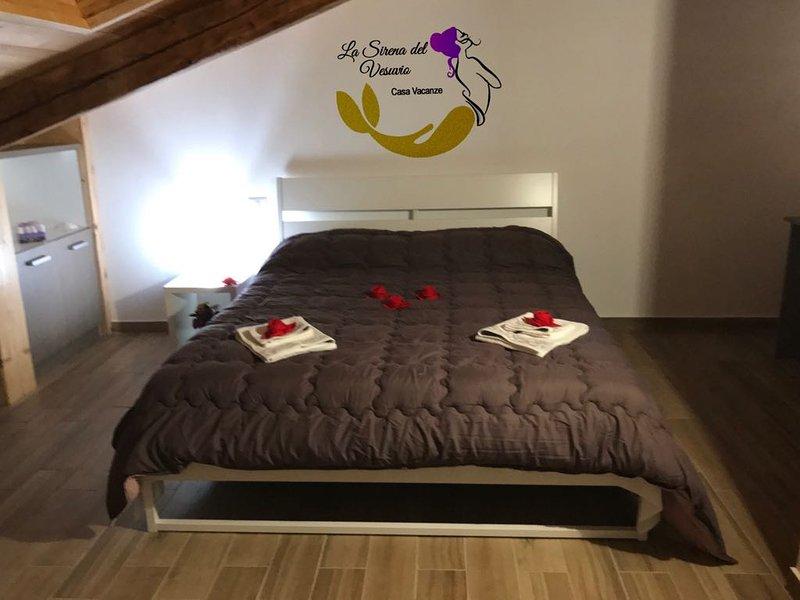Vesuvius Zimmer: Wi-Fi, Laptop Bereich, eine Klimaanlage und Heizung, Schränke.