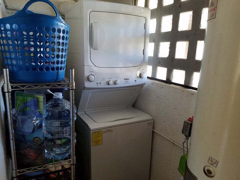 Laundry off the kitchen