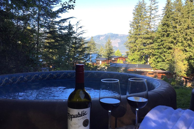 The Great Escape/Secluded with Hot Tub, vacation rental in Port Renfrew