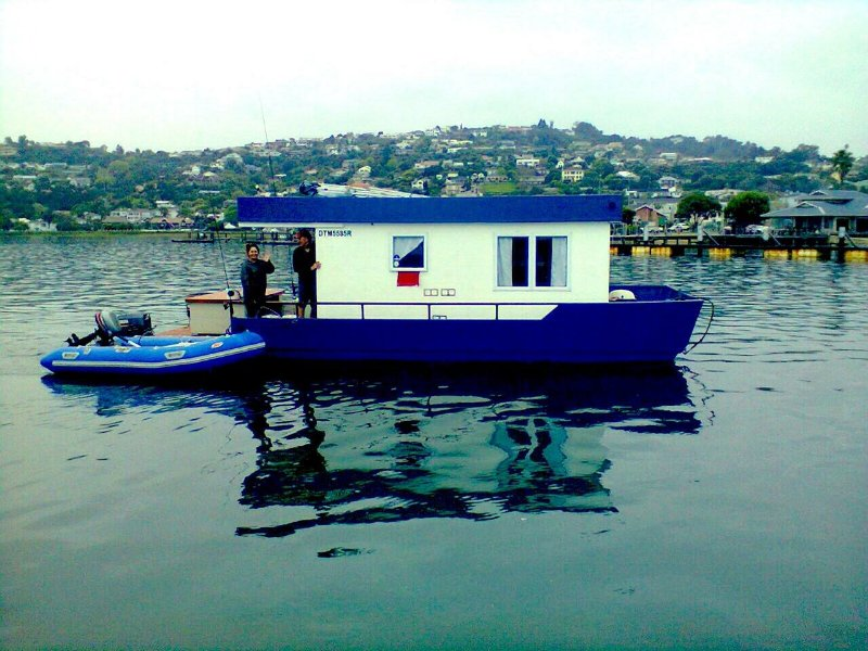 Our own houseboat - we offer lagoon cruises and you can even rent out the houseboat for a night or 2