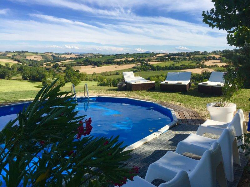 Casa del Fonte, ruim appartement, holiday rental in Monte Porzio