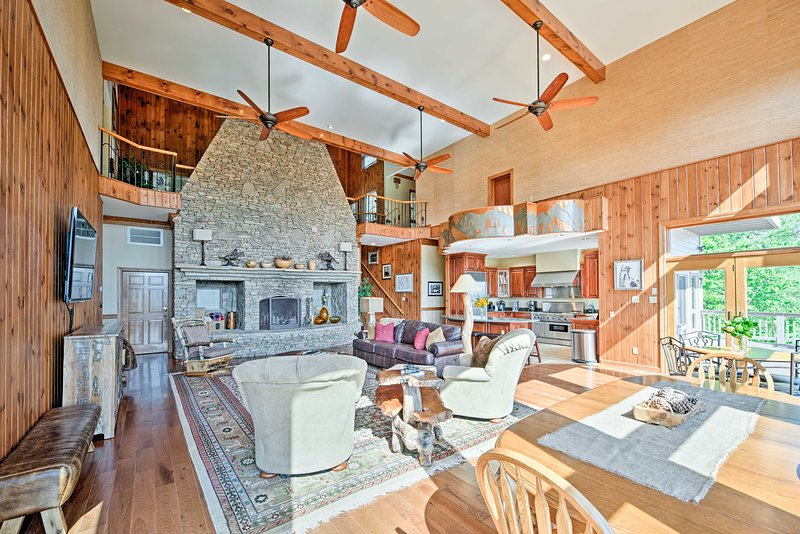 Experience the best of Townsend from this beautiful 5-bedroom, 4.5-bath vacation rental home!