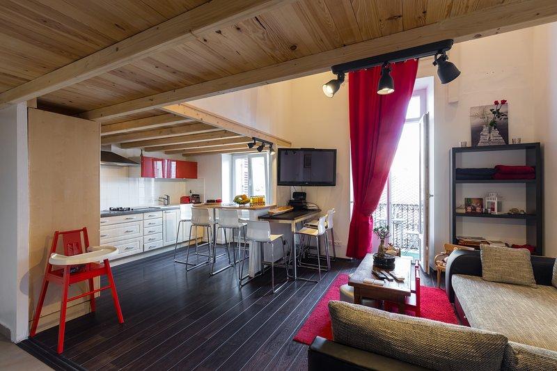Amazing family-friendly 5 bedrooms center Cannes, alquiler de vacaciones en Cannes