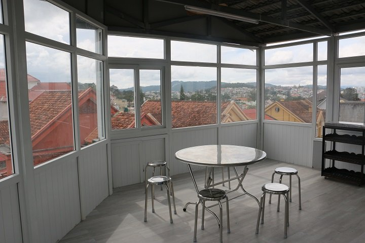 Kitchen on the roof