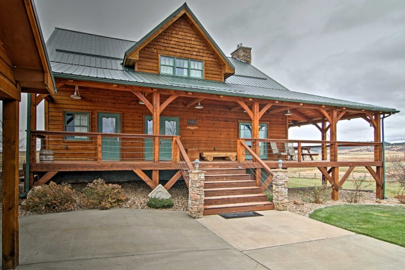 Find a secluded escape in South Dakota when you stay at this vacation rental home in Spearfish!