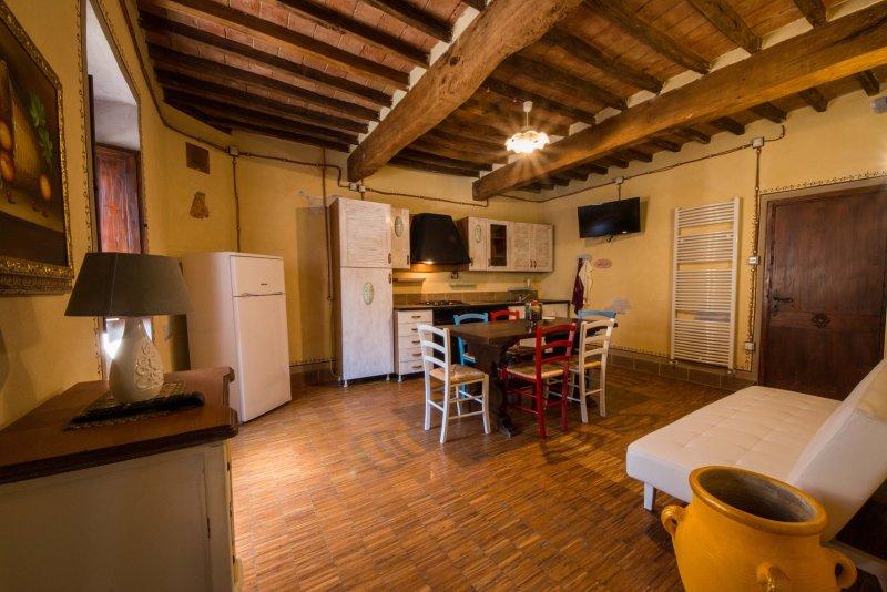 Fortress apartment (4/6 people) - Tuscany, location de vacances à San Giustino