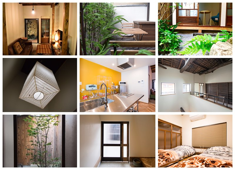 Fully renovated machiya vacation house for multiple families, couples, and friend groups.