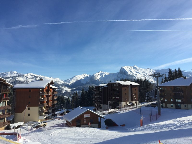 Ski Apartment in Morillon, Christmas and February 2022 available, location de vacances à Morillon