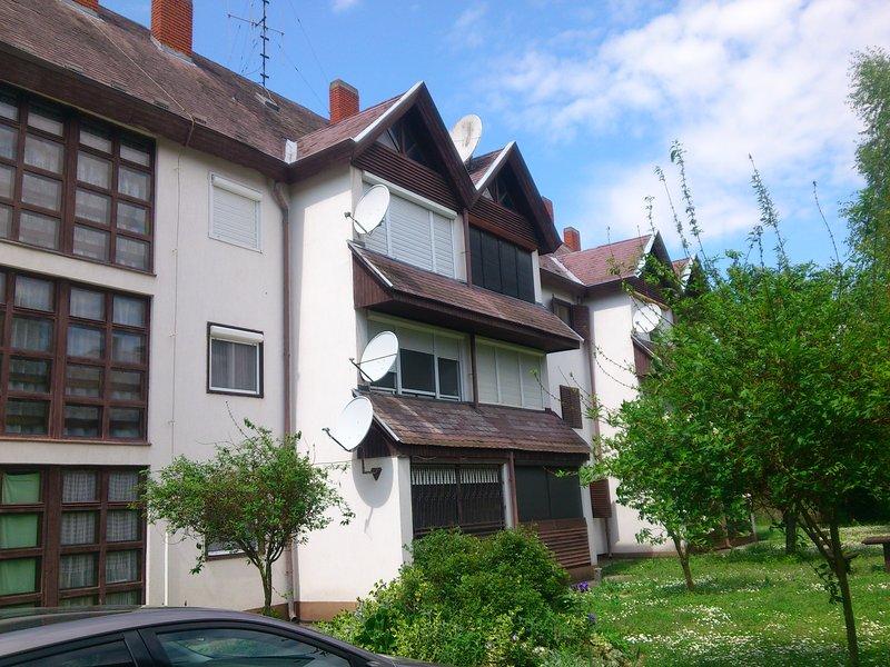 Lanka Apartments II., holiday rental in Kozarmisleny