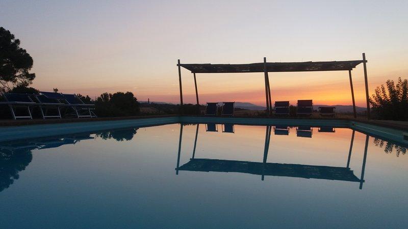 Venere - Appartamento nel verde con piscina, casa vacanza a Panicarola