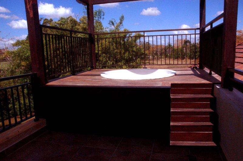 terraço privado com jacuzzi