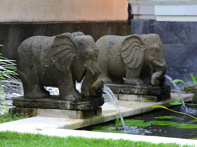 Villa Bulan Madu - Elephant water features