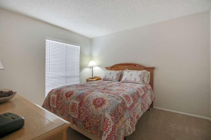 Very comfortable 3rd Guest Bedroom featureing Queen bed, dresser and closet