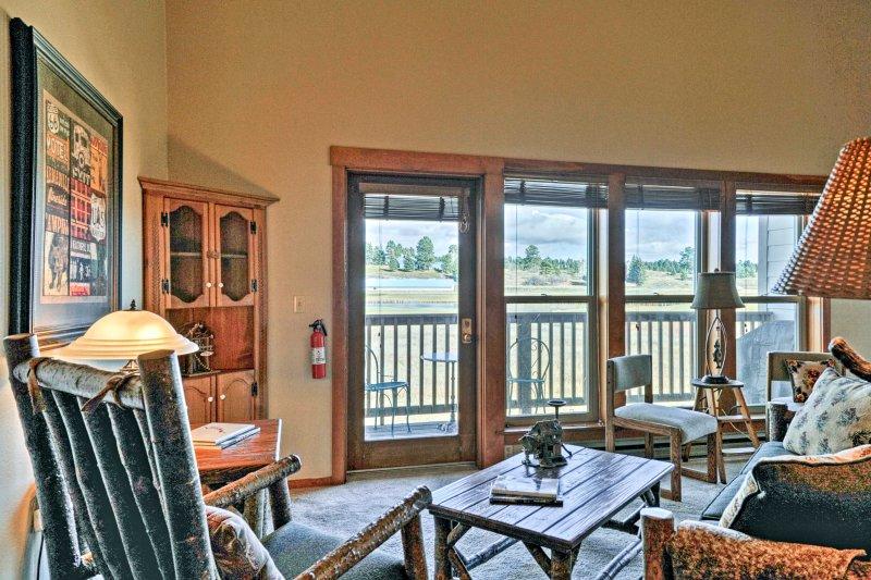 Evadez-vous à la montagne en réservant cette location de vacances de 2 chambres à Pagosa Springs!