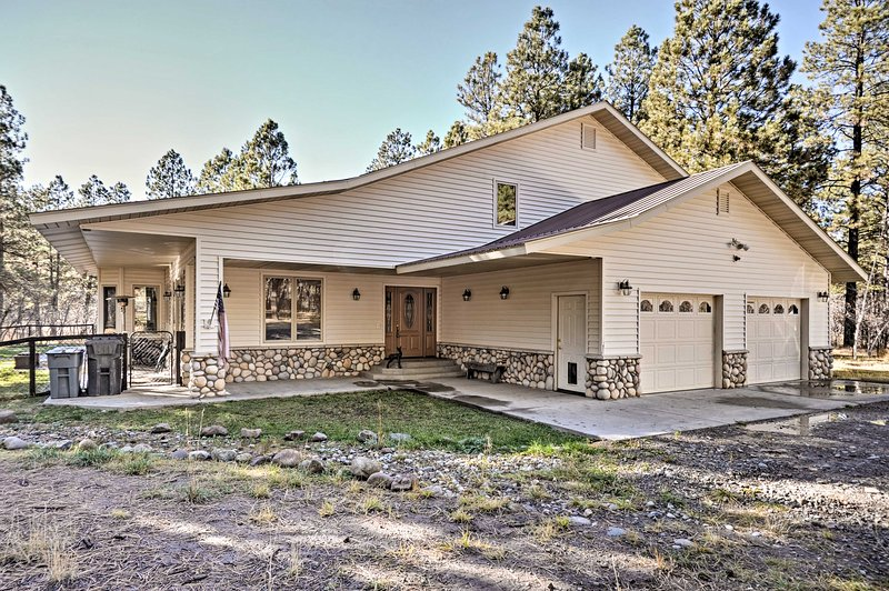 Discover scenic Pagosa Springs from this 3-bedroom, 3-bath vacation rental home!