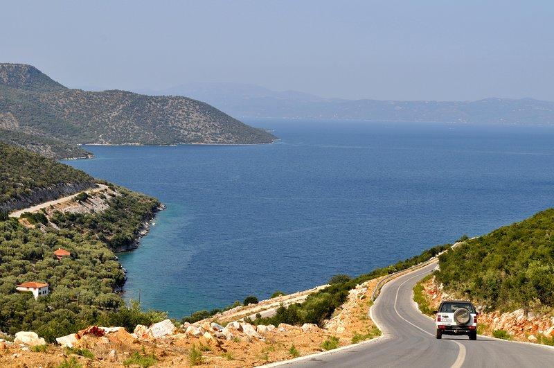 No caminho para Agia Kiriaki ...