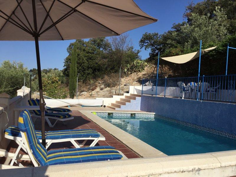 La zona piscina