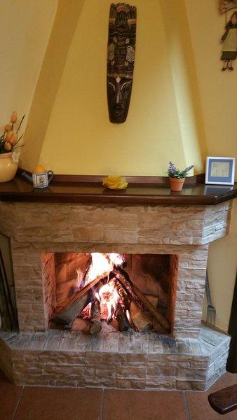 Fireplace!!