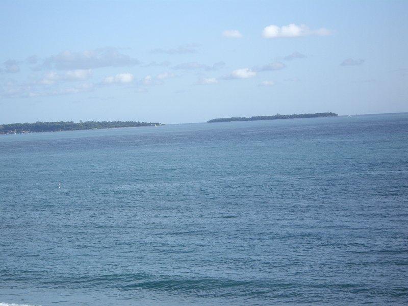 Vue sur les îles de Lérins