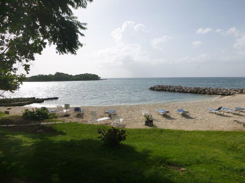 Main Beach regardant Boobay Cay dans la distance