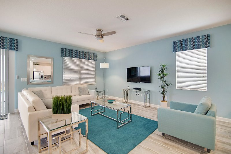 vacation rentals near orlando living room with sofa