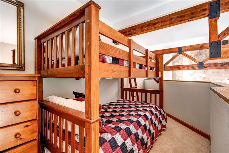 Bunk Bed with Twin Trundle in the Loft