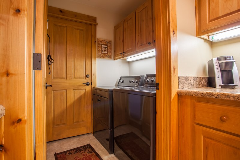Laundry Room off of kitchen