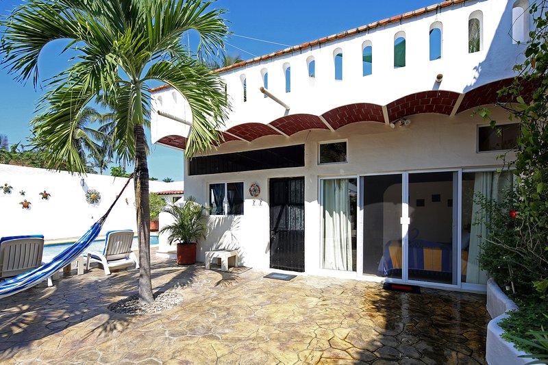 Entrance to Casa de la Alegria