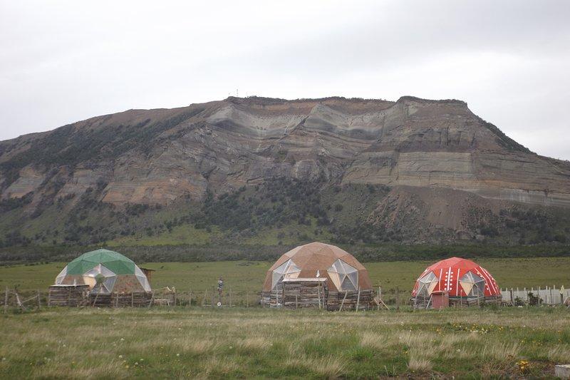 Refugio FOSSIL. Domos Patagonia. Domo Aonikenk. Puerto Natales, Chile., alquiler vacacional en Región de Magallanes