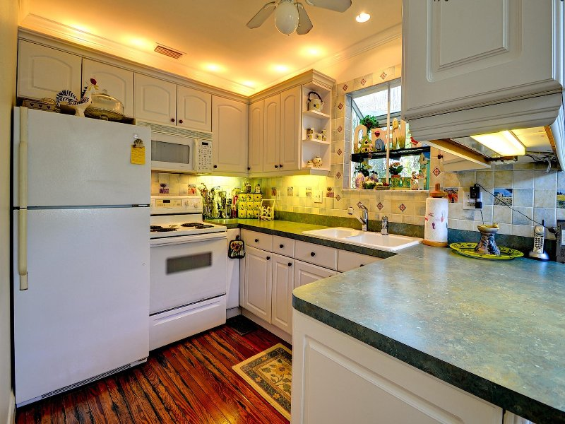Complete keuken maakt dit een thuis weg van huis