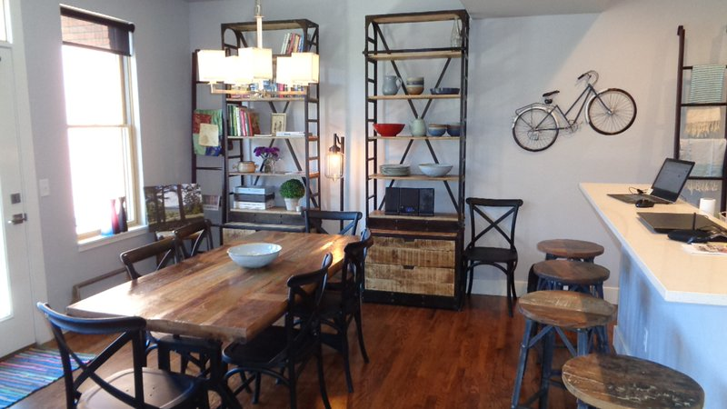 Living room 'the Biker'