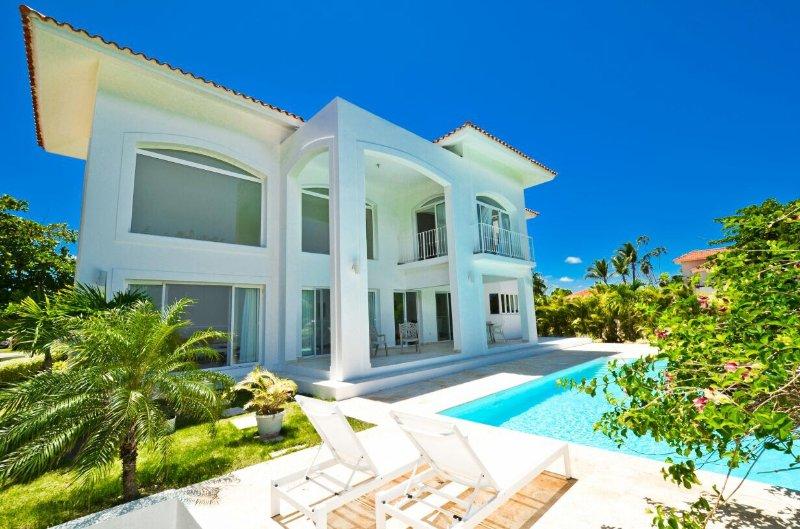 Votre patio privé et piscine