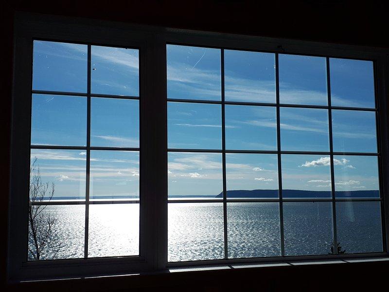 Cape Blomidon out our window. Nov. 18, 2017