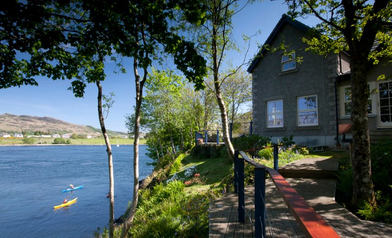 Cnocaruan Sea View, holiday rental in Port Appin