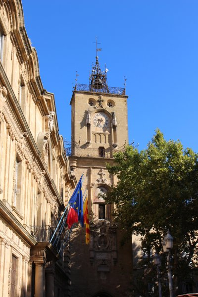Aix town - great for shopping, restaurants and sightseeing