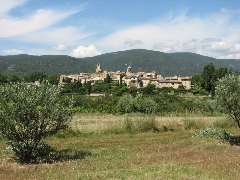 Lourmarin village - a short drive away