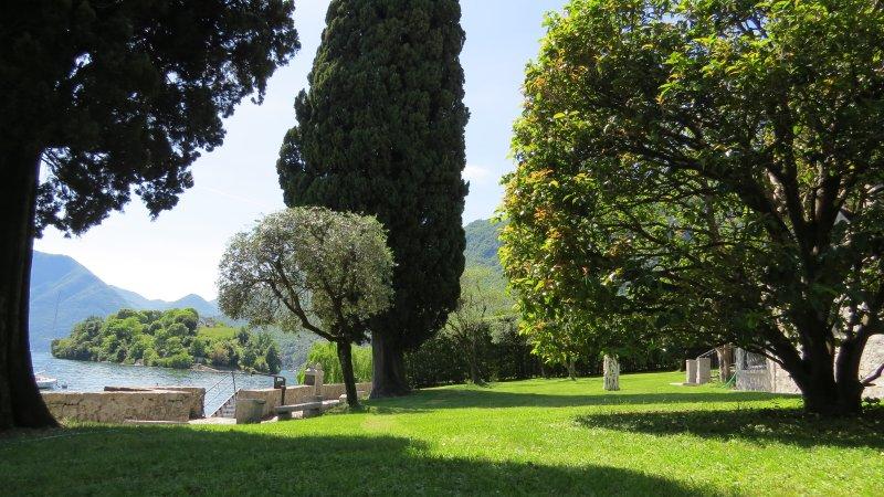 Villa esclusiva fronte lago, vacation rental in Tremezzina