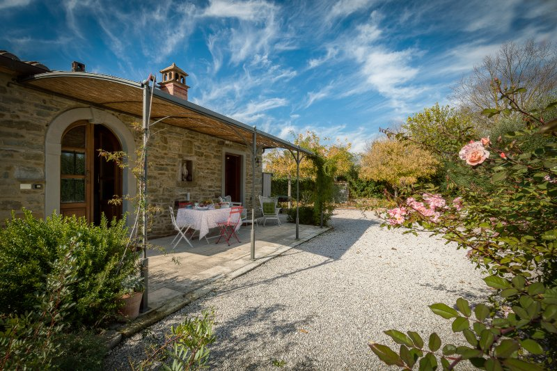 La Graziosa, graceful cottage with lovely pool., holiday rental in Castroncello
