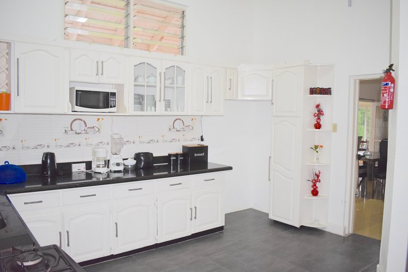 Fully loaded spacious kitchen