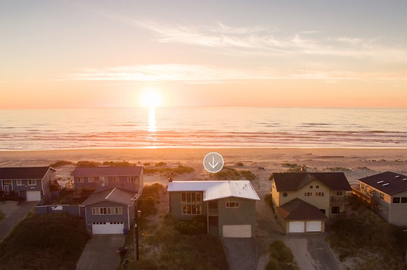 Step out the door and straight onto miles of sandy beach.