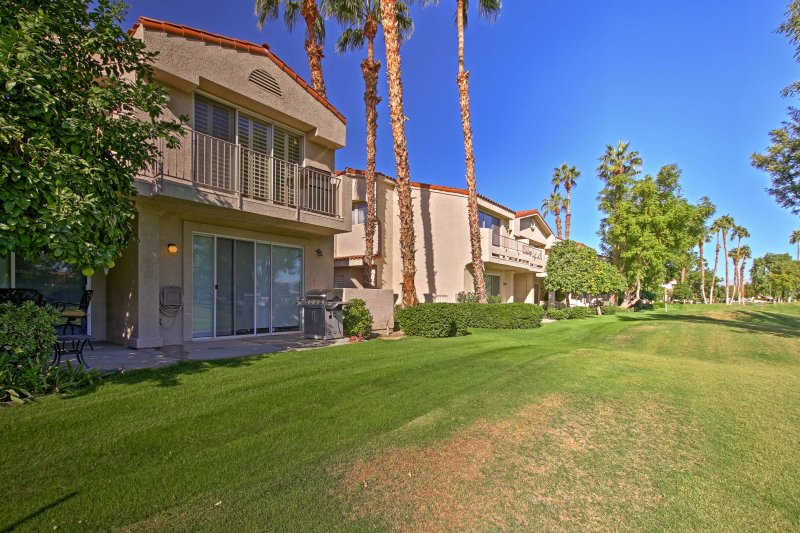 This home grants access to community amenities in the PGA West Golf Resort.
