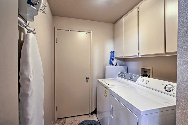 Mantenga su ropa limpia de usar la lavadora y secadora!