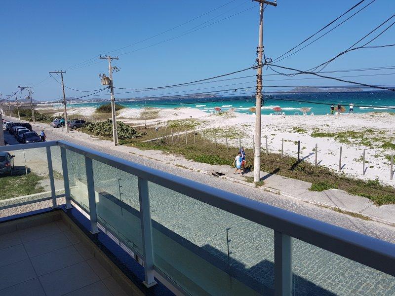 Blick vom Balkon der Suite 1