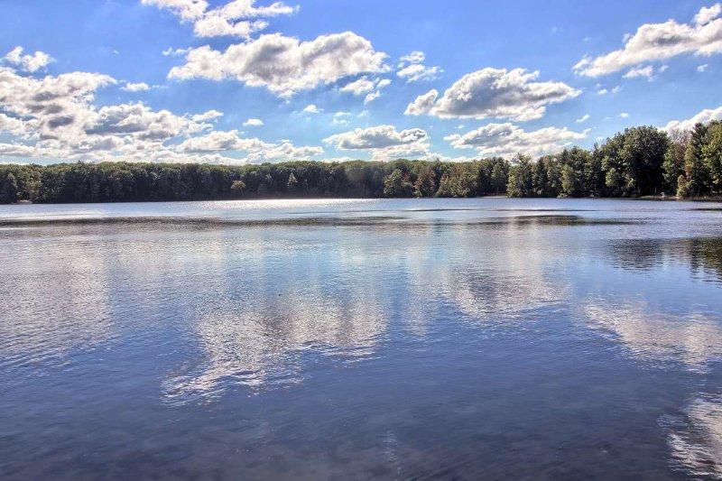 Disfruta de las aguas refrescantes de Bass Lake