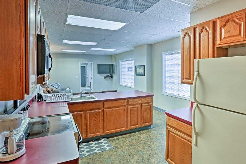 Questa unità recentemente ristrutturato offre fino a 8 persone con sistemazioni confortevoli e servizi moderni.