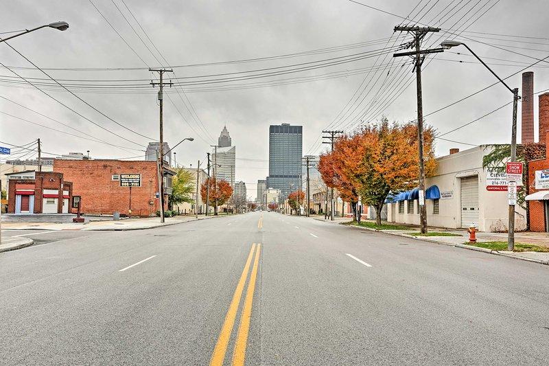 Vous allez adorer la proximité du centre-ville de Cleveland!