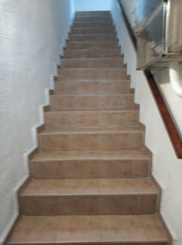 apartment stairs access