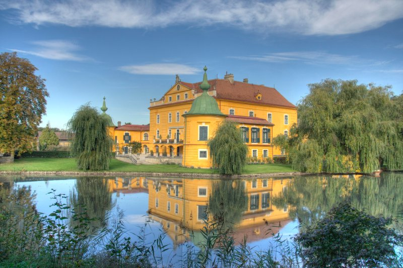 Schloss Wasserburg, holiday rental in Brand-Laaben