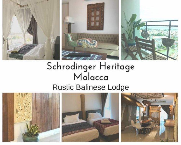 Homestay Apartment Melaka Schrodinger Heritage Rustic Balinese Malacca, alquiler de vacaciones en Melaka